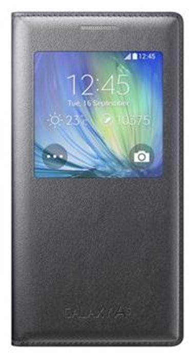 Bazár mobily, GPS Samsung flip puzdro pre Samsung Galaxy A5, čierne ROZBALENÉ