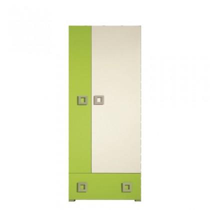Bazár obývacie izby LABYRINT LA 1 (krémová/limetka)