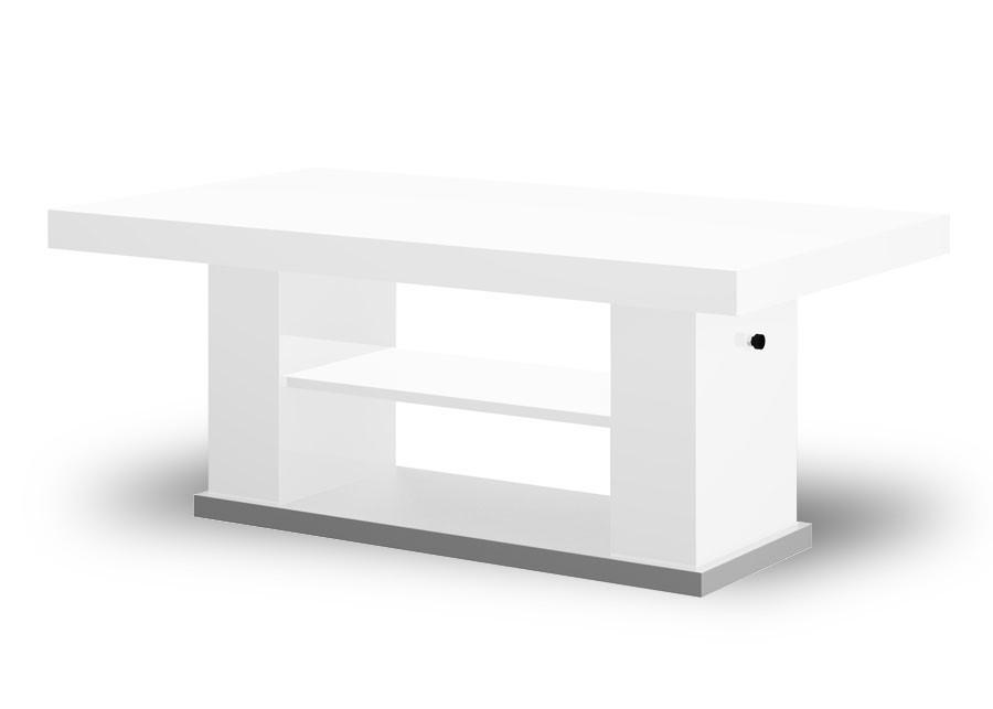 Bazár obývacie izby Matera 2 (biela lesk+sivá)