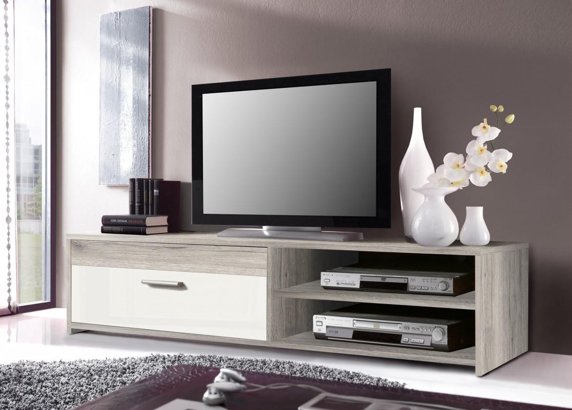 Bazár obývacie izby Paco PCOT11-P75F (dub pieskový/biela)
