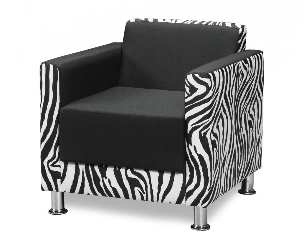 Bazár sedacie súprav Cube (savana black-sedák/zebra-korpus a podrúčky, sk. CB-1)