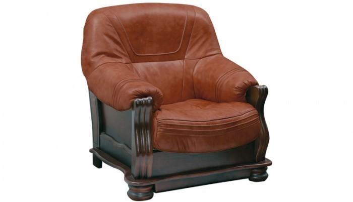 Bazár sedacie súprav Diplomat II - kreslo (A-4/drevo OL-4)