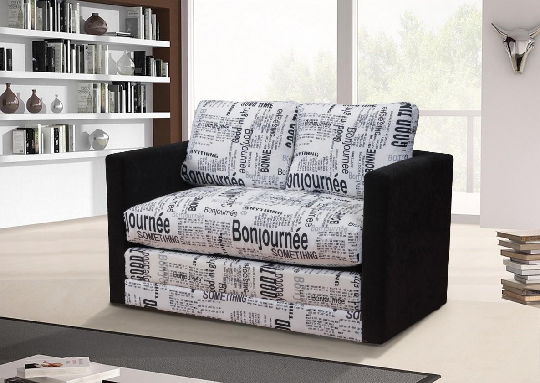 Bazár sedacie súprav Dream (microfiber black, korpus, podrúčky/bonjournee, sedák)