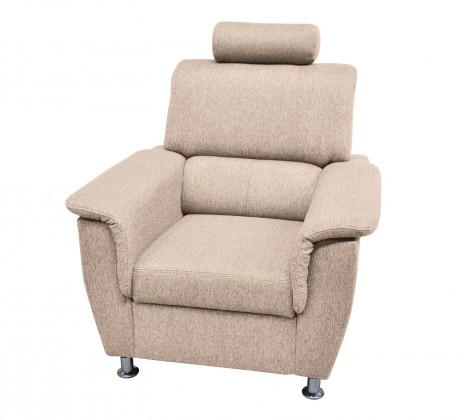 Bazár sedacie súprav Duo Panama - kreslo (nebraska bone)