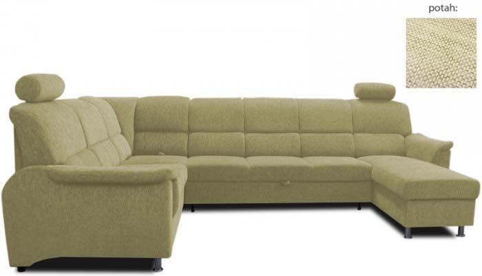 Bazár sedacie súprav Duo Panama Maxi 2(P)-R-3F-OT(L) (afryka 721)