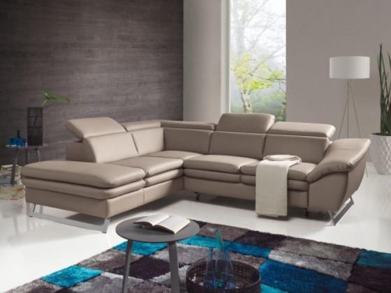 Bazár sedacie súprav Pearl - Roh ľavý (pampas madras platinum - M9039)