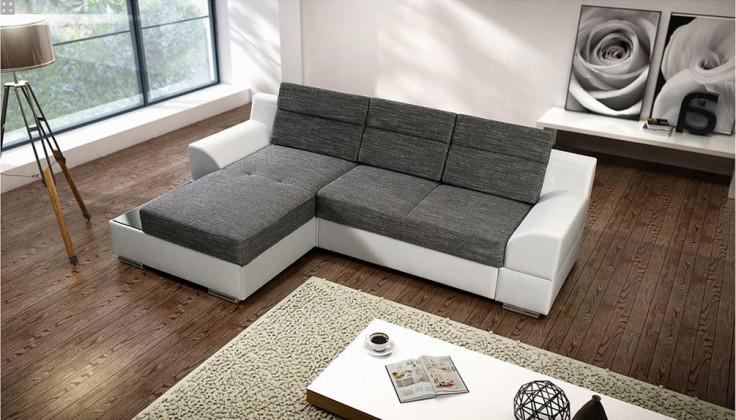 Bazár sedacie súprav Tiscali - Roh ľavý (berlin 1/dolaro 511/drevené lakované nohy)