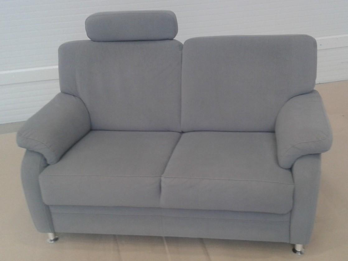 Bazár sedacie súprav Toulouse - podhlavník vľavo (emotion enoa grau 140213/kov nohy)