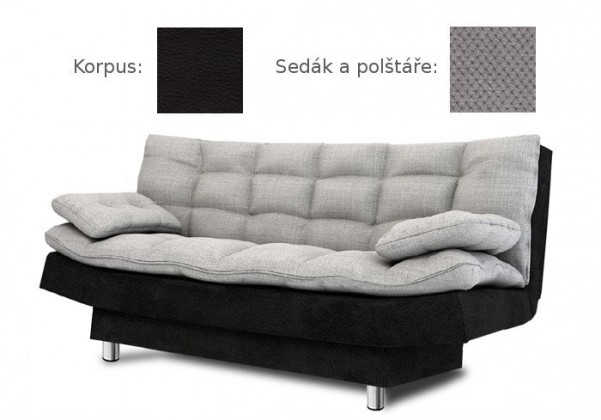 Bazár sedacie súprav Wenus (doti 91 sk. B sedák + vankúše/madryt 1100 sk. B korpus)