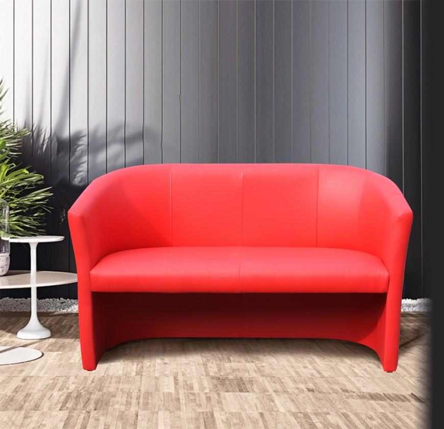 Bazár sedacie súpravy Cube - Pohovka (červená)