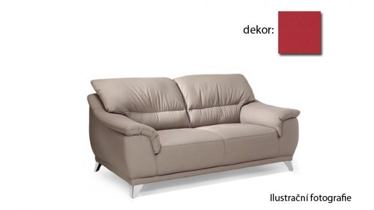 Bazár sedacie súpravy Dunja - dvojsedák (pulse - red D205, sk. R1)