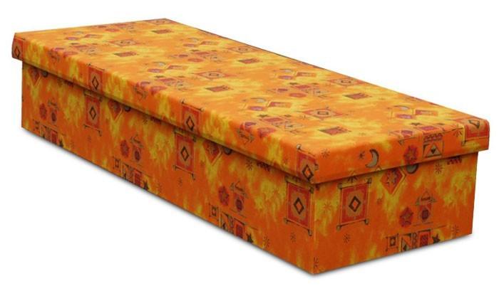 Bazár spálne Iva (oranžová)