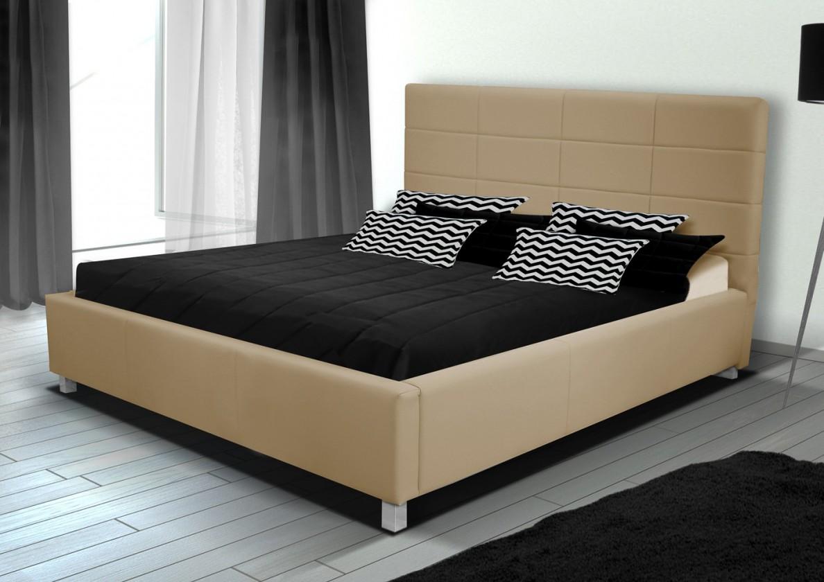 Bazár spálne Postel IX - 180x200 cm, rošt (soft 01)
