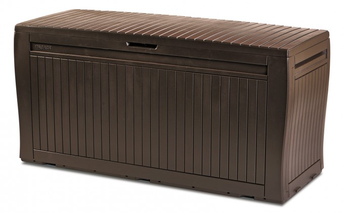 Bazár záhrada Box Comfy, 270L (hnedá)