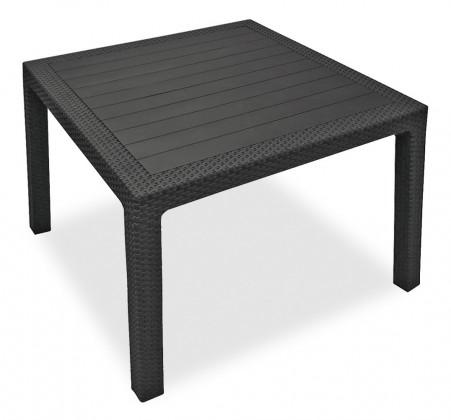 Bazár záhrada Melody - Stôl, 95 cm (graphite)