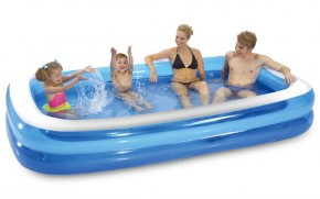 Bazén - Obdĺžnik (modrá)