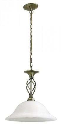 Beckworth - Stropné osvetlenie, 7136 (bronzová/biela alabastrová)