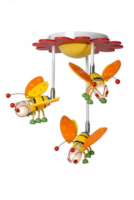 Bee - stropné osvetlenie, 9W, 3xE14 (multicolor)