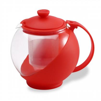 Bergner - kanvica na čaj 0,75L (červená)