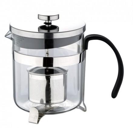 Bergner - presovač čaj, káva, nerez (strieborná)