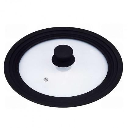 Bergner - univerzálna pokrievka 16, 18, 20 cm (čierna, číra)