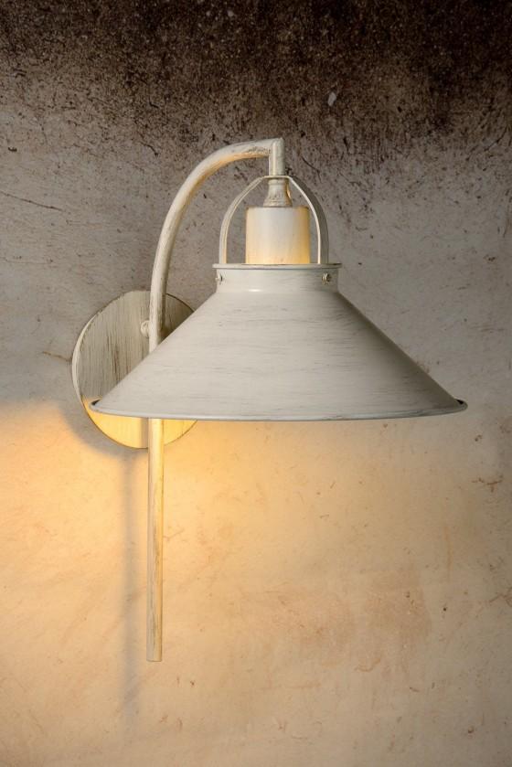 Berkley - nástenné osvetlenie, 18W, E27 (biela)