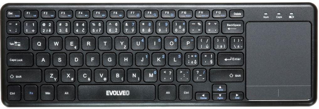 Bezdrôtová klávesnica Bezdrôtová klávesnica Evolveo WK32BG