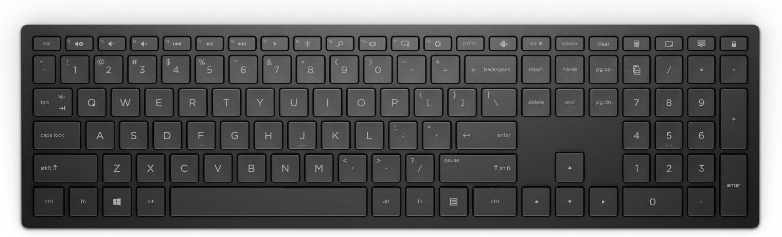 Bezdrôtová klávesnica Bezdrôtová klávesnica HP 600 CZ (4CE98AA#AKB)