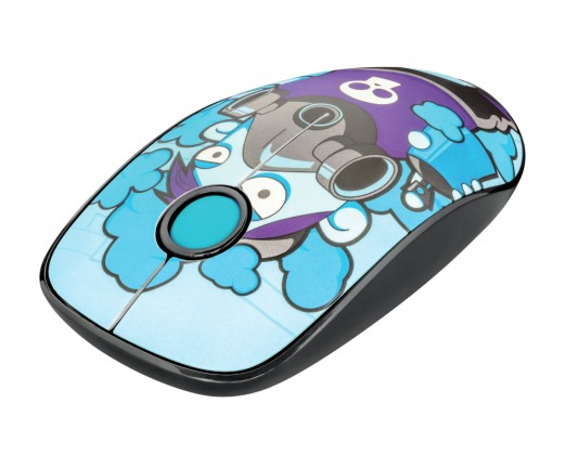 Bezdrôtová myš Bezdrôtová myš Trust Sketch, modrá