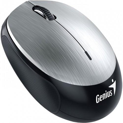 Bezdrôtová myš Genius NX-9000BTU, dobíjacia, strieborná