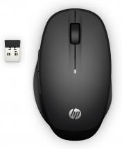 Bezdrôtová myš HP 300 Dual Mode - čierna