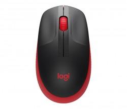 Bezdrôtová myš Logitech M190, červená