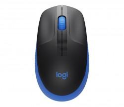 Bezdrôtová myš Logitech M190, modrá