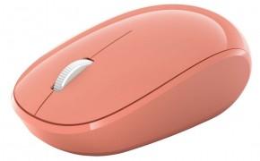 Bezdrôtová myš Microsoft Bluetooth Mouse, peach RJN-00042 + ZADARMO podložka pod myš Olpran
