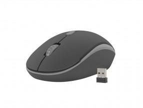 Bezdrôtová myš Natec Martin 1600 DPI, čierno-šedá