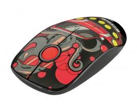 Bezdrôtová myš Trust Sketch, červená + ZADARMO podložka Olpran