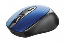 Bezdrôtová myš Trust Zaya, modrá, dobíjacia