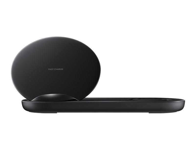 Bezdrôtová nabíjačka Duálna nabíjacia stanica Samsung pre bezdrôtové nab., čierna