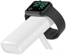 Bezdrôtová Powerbank COTEetCI 5200mAh pre Apple Watch, biela