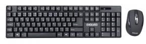 Bezdrôtová súprava EVOLVEO WK-142, klávesnica + myš