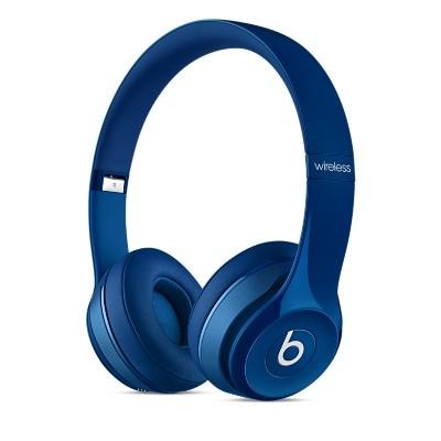 Bezdrôtové Beats Solo 2 Wireless, modrá - MHNM2ZM/A