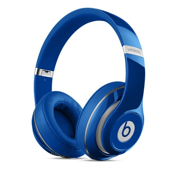 Bezdrôtové Beats Studio Wireless, modrá - MHA92ZM/A