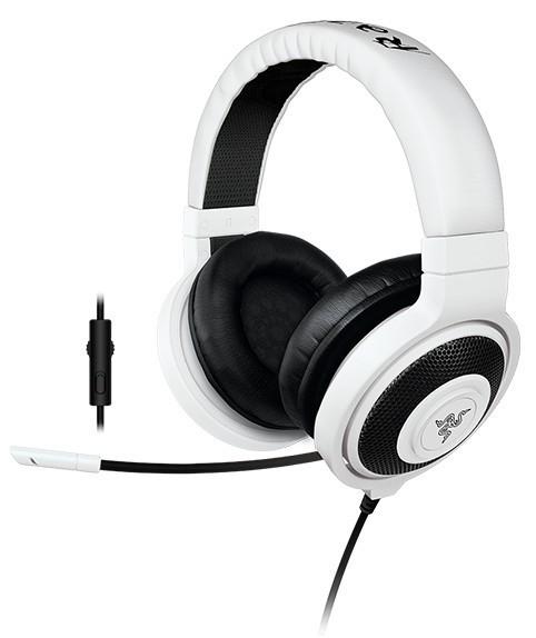 Bezdrôtové Gaming headset Razer Kraken Pro White 2015