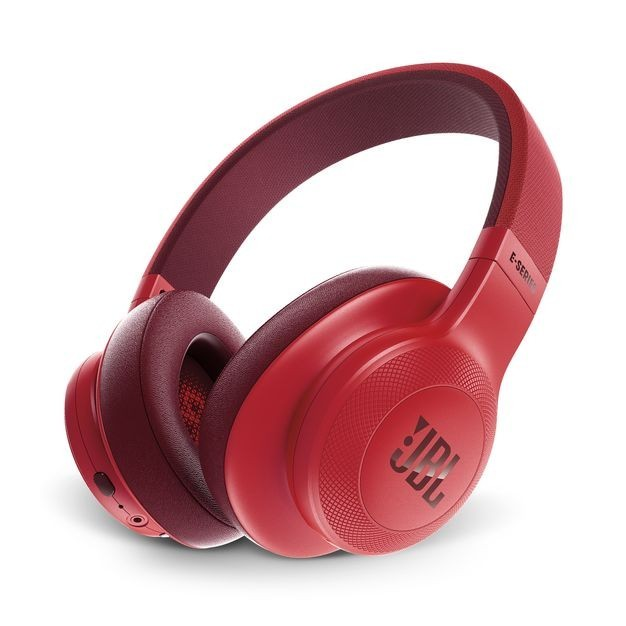 Bezdrôtové JBL sluchátka E55BT červená JBL E55BTRED