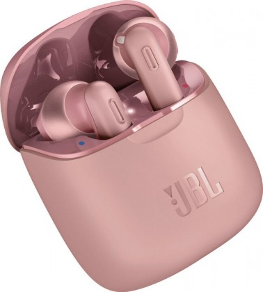 Bezdrôtové JBL TUNE 220TWS, ružová