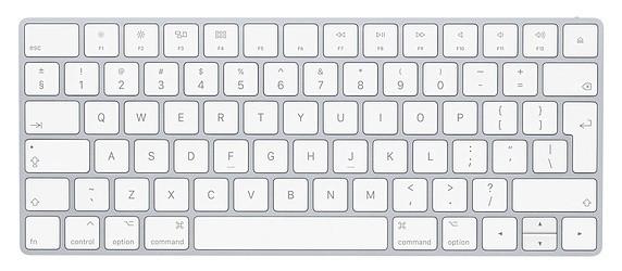 Bezdrôtové klávesnice Klávesnica Apple Magic, SK, biela