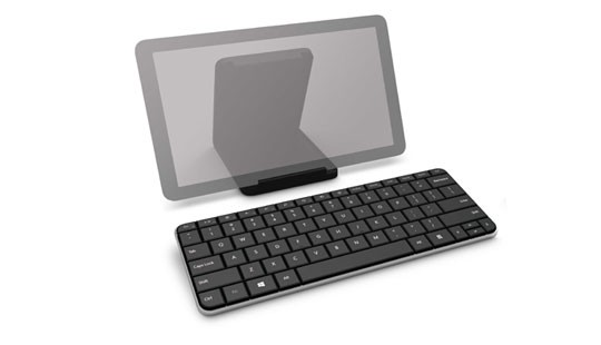 Bezdrôtové klávesnice Microsoft Wedge Mobile Keyboard