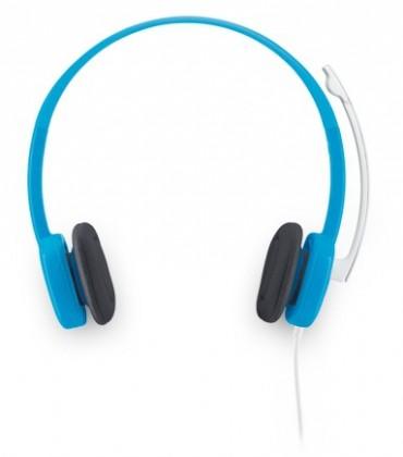 Bezdrôtové Logitech Stereo Headset H150 Blueberry, 3,5 mm