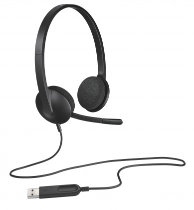 Bezdrôtové Logitech USB Headset H340