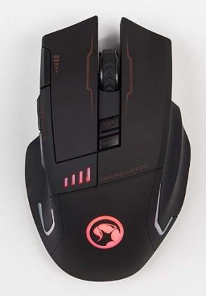 Bezdrôtové myši Bezdrôtová myš Marvo M720W, 4800dpi, 8 tlačidiel, čierna